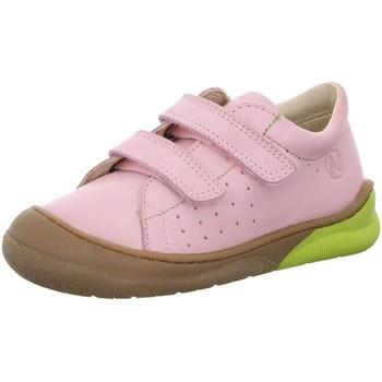 Schuhe Mädchen Sneaker Low Naturino Klettschuhe Falcotto Gabby Rosa rosa