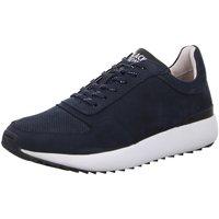 Schuhe Herren Sneaker Low Blackstone Schnuerschuhe TG02 TG02 Navy blau