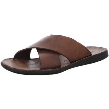 Schuhe Damen Pantoffel Brador Pantoletten T-Capo mogano 34-510-mogano braun