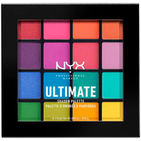 Beauty Damen Set Lidschatten  Nyx Ultimate Shadow Palette brights 16x0,83 Gr 16 x 0,83 g