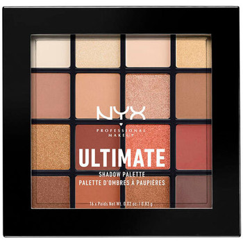 Beauty Damen Set Lidschatten  Nyx Ultimate Shadow Palette warm Neutrals 16x0,83 Gr 16 x 0.83 g