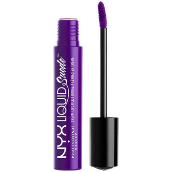 Beauty Damen Lippenstift Nyx Liquid Suede Cream Lipstick amethyst  4 ml