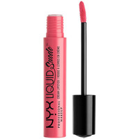 Beauty Damen Lippenstift Nyx Liquid Suede Cream Lipstick tea&cookies  4 ml