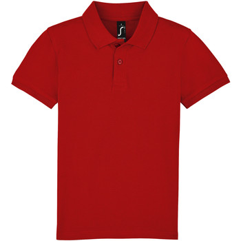 Kleidung Kinder Polohemden Sols PERFECT KIDS COLORS Rojo