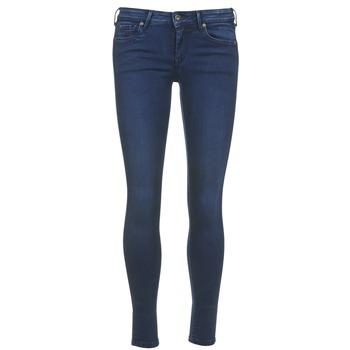 Kleidung Damen 3/4 Hosen & 7/8 Hosen Pepe jeans LOLA Blau