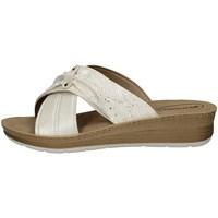 Schuhe Damen Pantoffel Inblu FC 38 WEISS