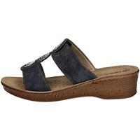 Schuhe Damen Pantoffel Inblu 26 77 BLUE