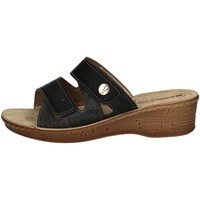Schuhe Damen Pantoffel Inblu 26 78 BLACK