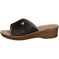 Schuhe Damen Pantoffel Inblu 26 79 BLACK