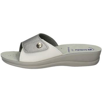 Schuhe Damen Pantoffel Inblu VR 45 CIABATTA Frau SILVER SILVER