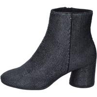 Schuhe Damen Low Boots Elvio Zanon BM13 schwarz