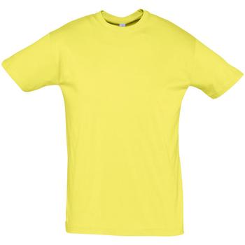 Kleidung Herren T-Shirts Sols REGENT COLORS MEN Amarillo