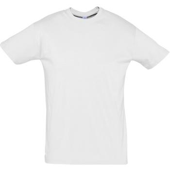 Kleidung Herren T-Shirts Sols REGENT COLORS MEN Blanco