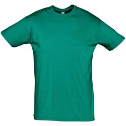 Kleidung Herren T-Shirts Sols REGENT COLORS MEN Verde