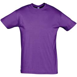 Kleidung Herren T-Shirts Sols REGENT COLORS MEN Violeta