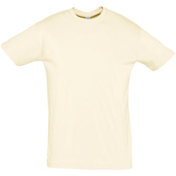 Kleidung Herren T-Shirts Sols REGENT COLORS MEN Beige