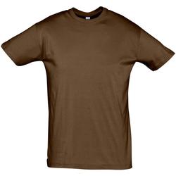 Kleidung Herren T-Shirts Sols REGENT COLORS MEN Marrón