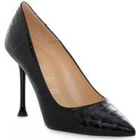 Schuhe Damen Pumps Priv Lab COCCO NERO Nero