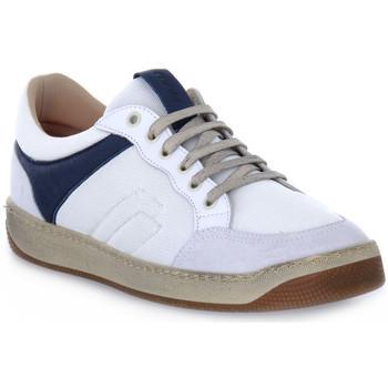 Schuhe Herren Sneaker Low Frau TECNO WHITE Bianco