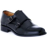 Schuhe Herren Slipper Exton VITELLO NERO Nero