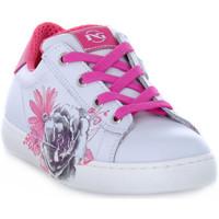 Schuhe Mädchen Sneaker Low NeroGiardini 707 CILE BIANCO Bianco