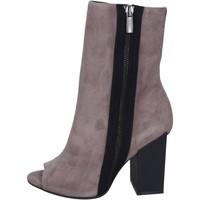 Schuhe Damen Low Boots Marc Ellis stiefeletten wildleder grau