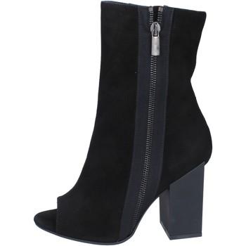Schuhe Damen Low Boots Marc Ellis stiefeletten wildleder schwarz