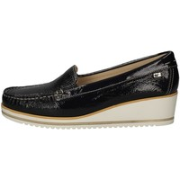 Schuhe Damen Slipper Valleverde 11210 BLUE