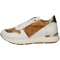 Schuhe Damen Sneaker Low Alviero Martini P750/578E WEISS