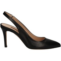 Schuhe Damen Pumps Albano 4171 BLACK