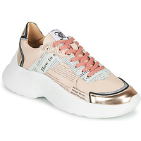 Schuhe Damen Sneaker Low John Galliano 3645 Rose