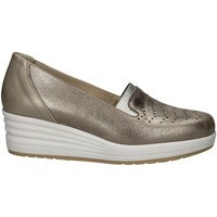 Schuhe Damen Slipper Florance 14634-2 BLUE