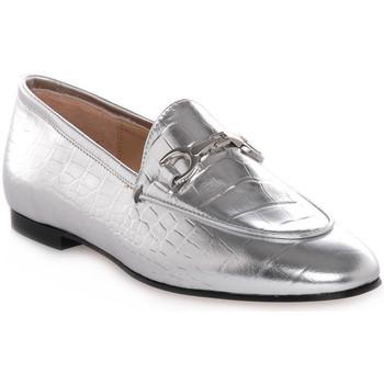 Schuhe Damen Slipper Priv Lab LAMINATO ARGENTO Grigio