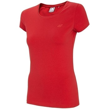 Kleidung Damen T-Shirts 4F TSD001 Rot