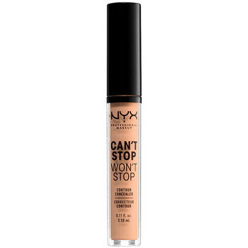 Beauty Damen Concealer & Abdeckstift  Nyx Can't Stop Won't Stop Contour Concealer natural  3,5 ml