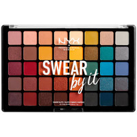 Beauty Damen Set Lidschatten  Nyx Swear By It Shadow Palette 40x1 Gr 40 x 1 g