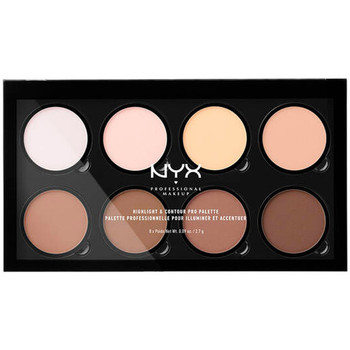 Beauty Damen Highlighter  Nyx Highlight & Contour Pro Palette 8x2,7 Gr 8 x 2,7 g
