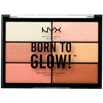 Beauty Damen Highlighter  Nyx Born To Glow! Highlighting Palette 6 x 4,8 g