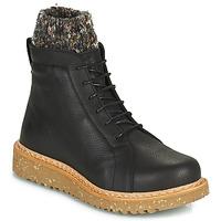 Schuhe Damen Boots El Naturalista PIZARRA Schwarz