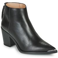 Schuhe Damen Low Boots Unisa MIRTE Schwarz