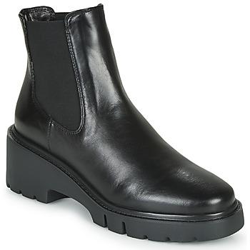 Schuhe Damen Boots Unisa JEROME Schwarz
