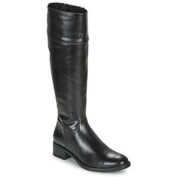 Schuhe Damen Klassische Stiefel Unisa ENERIZ Schwarz