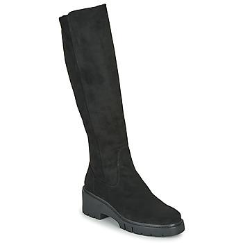 Schuhe Damen Klassische Stiefel Unisa JELIZA Schwarz