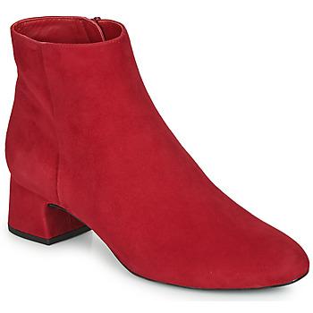 Schuhe Damen Low Boots Unisa LOLI Rot