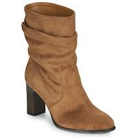 Schuhe Damen Low Boots Unisa ULANO Beige