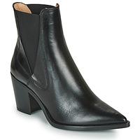 Schuhe Damen Low Boots Unisa MUNIS Schwarz