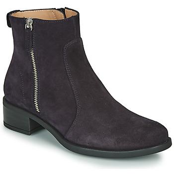Schuhe Damen Boots Unisa EBRAS Marine