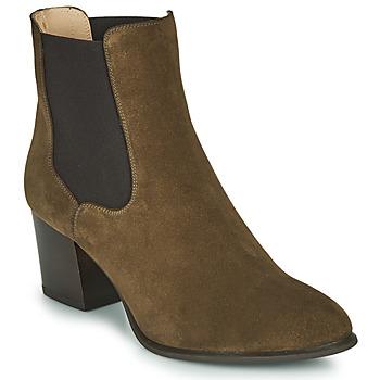 Schuhe Damen Low Boots Unisa MAZE Kaki