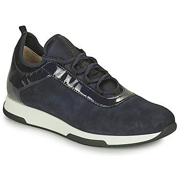 Schuhe Damen Sneaker Low Unisa FONTS Marine
