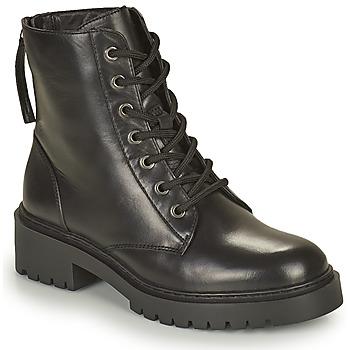 Schuhe Damen Boots Unisa JISPER Schwarz
